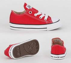 Converse All Star Ox Trainers Red
