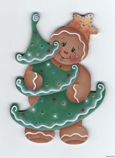 ebay stonehouse28 Gingerbread Man Decorations, Christmas Gingerbread Men, Gingerbread Ornaments, Christmas Wood, Christmas Pictures, Christmas Holidays, Christmas Crafts, Christmas Decorations, Christmas Ornaments