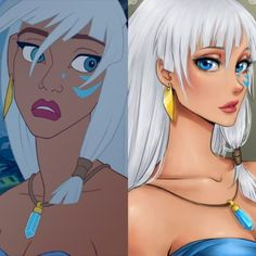 Descubra como seriam 11 princesas Disney se elas fossem animes Non Disney Princesses, Disney Princess Drawings, Disney Princess Art, Disney Drawings, Disney Art, Disney Animated Movies, Disney Films, Disney And Dreamworks, Kida Atlantis