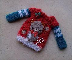 #Christmas #bearsweater #jumper #pullover #Blythe and por #Mitilene