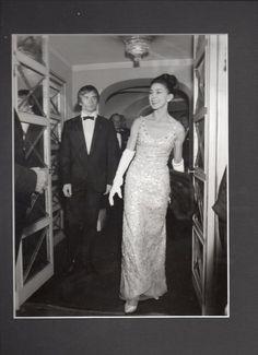 "Ballet Rudolf Nureyev Margot Fonteyn IN Evening Dress 7"" X 9 5"" Photograph…"