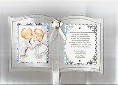 Cute Wedding Bookatrix by snoflakeUK - Cards and Paper Crafts at Splitcoaststampers