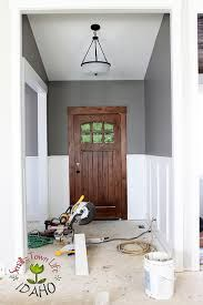 Image result for board and batten wainscoting in foyer