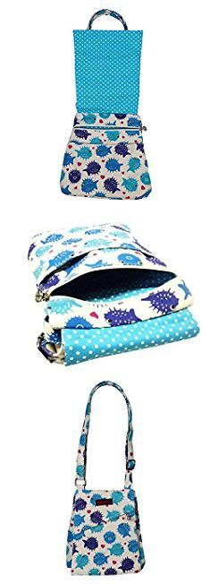 Bungalow Bags. Bungalow 360 Puffer Fish Small Messenger Bag.  #bungalow #bags #bungalowbags