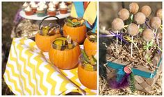 Fall, Harvest, Rustic Thanksgiving Party - Karas Party Ideas - The Place for All Things Party
