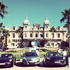 Monte Carlo Casino. Photo courtesy of coconutwp on Instagram.