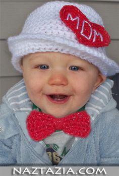 Crochet baby hat - Naztazia