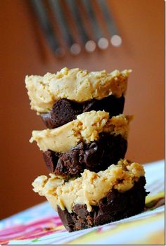 no bake chocolate and peanut butter