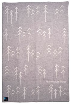 norwegian wood blanket by Pur Norsk