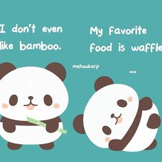Why do pandas always look sad one may ask