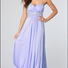 9d3c57b4894 Spotted while shopping on Poshmark: Long Spaghetti Strap Prom Dress! # poshmark #fashion