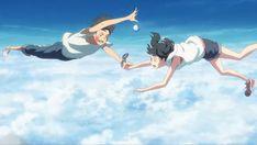 Anime Films, Anime Characters, Home Screen Pictures, Stop The Rain, Kimi No Na Wa, Final Fantasy, Geek Stuff, Kawaii, Weather
