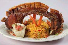 Yummy!  Puerto rican food