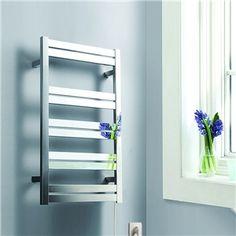タオルウォーマー-Homezakka 壁掛けタオルウォーマー タオルヒーター タオルハンガー+簡易乾燥 ステンレス鋼 125W