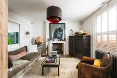 This six bedroom, 4 story Georgian home is for sale via The Modern House  (for a hefty price) a...