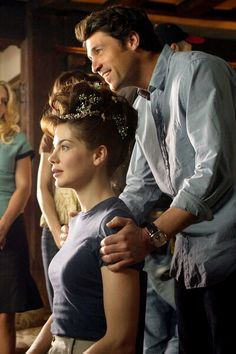 Patrick Dempsey and Michelle Monaghan in Made of Honor Patrick Dempsey Movies, Made Of Honor, Movie To Watch List, Michelle Monaghan, Derek Shepherd, Romance Film, Romantic Movies, Picture Photo, Good Movies