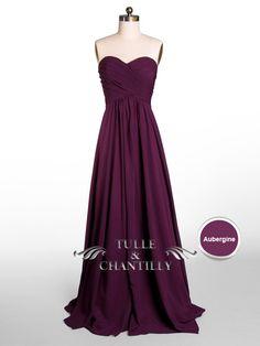 Long Rose and Blush Sweetheart Strapless Bridesmaid Dress