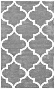 Anchor your living room seating group or define space in the den with this artfully hand-tufted rug, featuring a quatrefoil trellis motif for eye-catching ap. Timberwolf, Trellis Rug, Purple Area Rugs, Rugs Usa, Hand Tufted Rugs, Contemporary Rugs, Modern Rugs, Quatrefoil, Accent Rugs