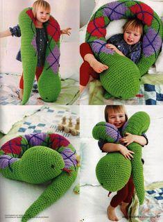 Amigurimus gigantes para niños