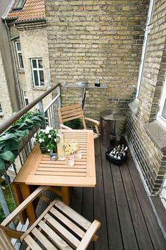 Arredamento per piccolo terrazzo 09