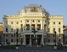 Teatro Nacional Esloveno, Bratislava, Eslováquia