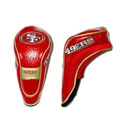 San Francisco 49ers Hybrid Golf Club Headcover