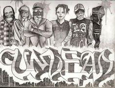 The Hollywood Undead by PatrickSchappe-Art.deviantart.com on @DeviantArt