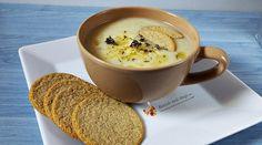 supa crema de usturoi cu naut Supe, Healthy Recipes, Tableware, Ethnic Recipes, Kitchen, Food, Kitchens, Baking Center, Dinnerware