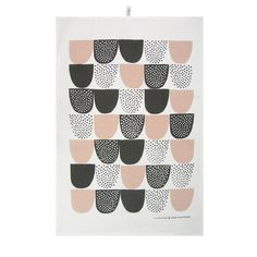 Hand printed tea towels from Kauniste, Finland. Founded by young Finnish…