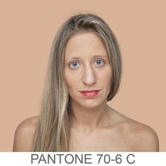 Pin for Later: This Pantone Art Project Will Change the Way You See Skin Color Humanae Source: Angélica Dass