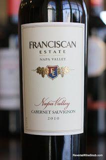 Franciscan Estate Napa Valley Cabernet Sauvignon 2010 - Take a Vow of Delicious