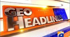 Geo News Headlines - 16th June 2017