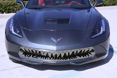 """""""Shark Tooth"""" Front Grille - yes Virginia, there are rednecks with money, or jerks with photoshop..."""