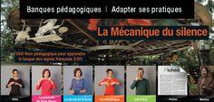 La mécanique du silence - apprendre la langue des signes française (LSF) @reseau_canope