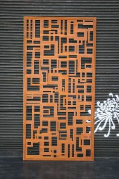 Decorative Screens Laser Cut Custom Designer Corten Melbourne