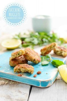 Zucchini nuggets Zucchini nuggets, you say? Reckon the kids will eat them? Yes! You have to try these zucchini nuggets. As silly as it sounds they aren't overly zucchini-y and just melt in the mouth, we couldn't get enough. Zucchini, hugely popular in Australia, is available all year round but they are at their peak …
