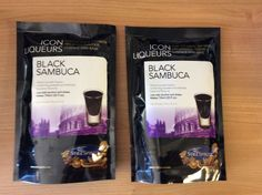 ICON LIQUEUR KIT Black Sambuca pack of 2 HOME BREW STILL SPIRITS FREEPOST UK