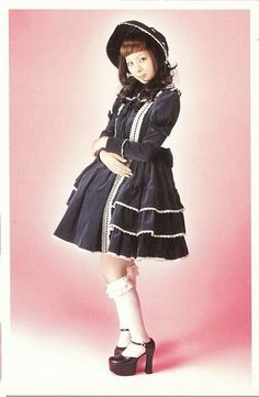 Old School gothic lolita by Metamorphose.