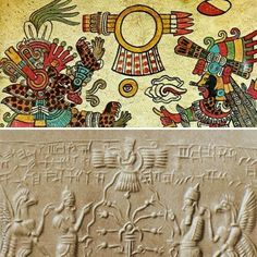 Aztec Code and Sumerians