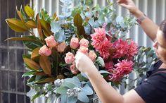 How to arrange flowers like a florist step 7