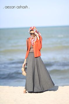 ..flowers, cardigan, maxi.. prim and proper! could also replace cardigan with blazer for more formal outfit.