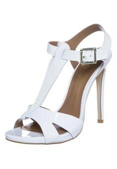 ALDO - LAEDIA - High heeled sandals - white