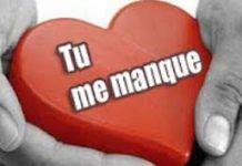 Sms Damour Tu Me Manque Trop Sms Amour Message Amour Et
