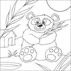 Cute Panda Printables