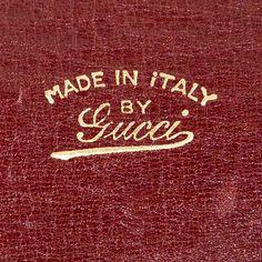 Gucci label