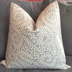 On Both Sides - Pillow Cover - Decorative Pillow Cover - Throw Pillow Cover - 16x16 inch. $23.00, via Etsy.