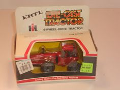 IH International Harvester 6388 2+2 1/64 NIB Ertl 4wd Articulating Tractor H2F #Ertl #CaseIH
