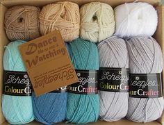 Scheepjes 'Last Dance in the Rain' CAL Pack - Colour Crafter - ordered from Wool Warehouse