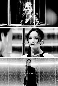 """I am the Mockingjay."""