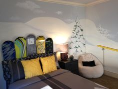 Hayden's Snowboard Room